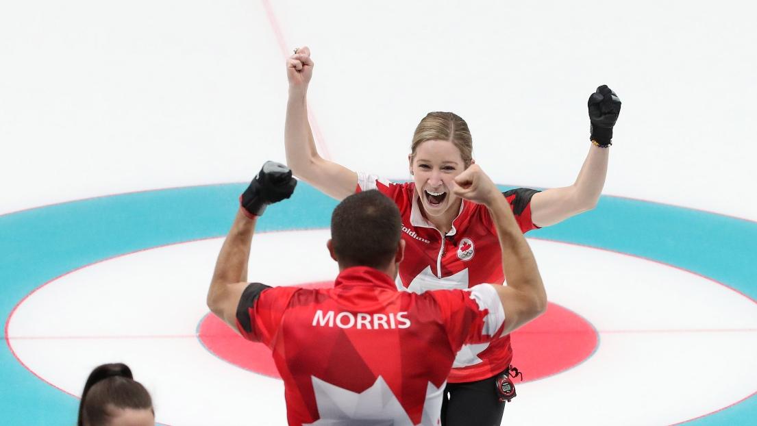 John Morris et Kaitlyn Lawes