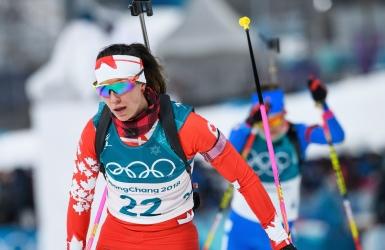 Le biathlon 15 km femmes est remis à jeudi