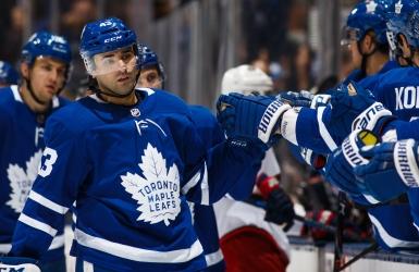Neuf en 10 pour les Leafs, 3 buts pour Kadri