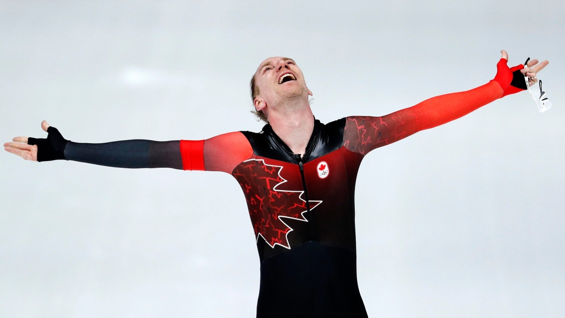 Ted-Jan Bloemen gagne l'or au 10 000 m