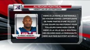 Kyries Hebert quitte Montréal pour Ottawa