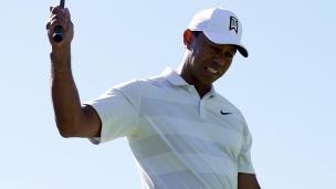 Tiger Woods connaît des ratés