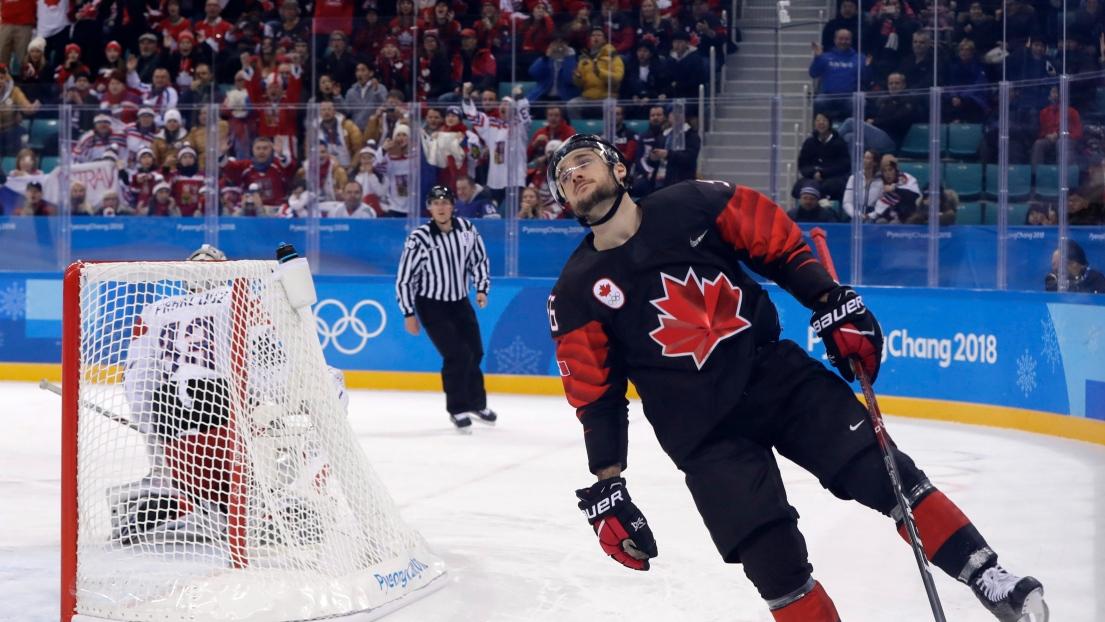 Le Canada battu par la République tchèque — Hockey masculin