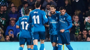Real Betis 3 - Real Madrid 5