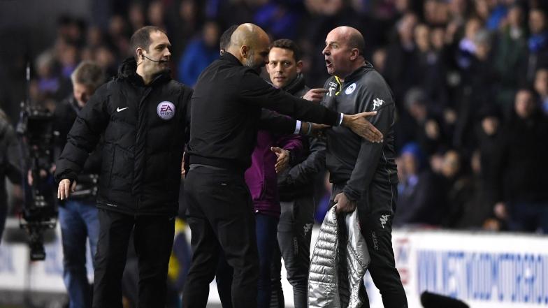 Pep Guardiola et Paul Cook