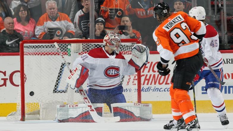 Jakub Voracek donne la victoire aux Flyers