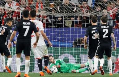 C1 : le mur De Gea sauve Manchester United