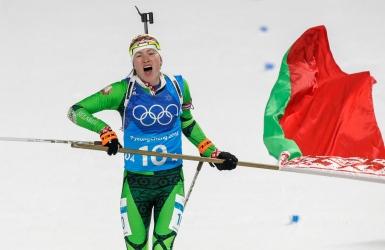 Biathlon : le Bélarus s'impose au relais, le Canada 10e