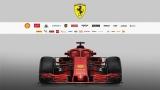 La la SF71-H de Ferrari