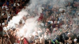 Des hooligans russes lors de l'Euro 2016