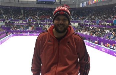 Le troisième frère Hamelin à PyeongChang