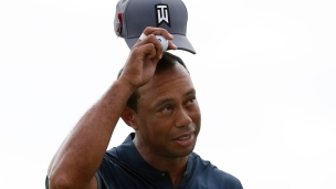 Woods joue la normale