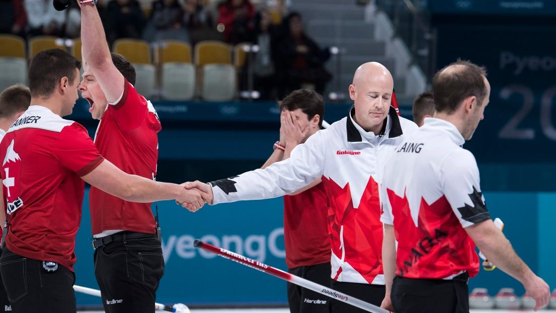 Le Canada s'incline devant les États-Unis en demi-finale — Curling masculin