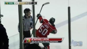Lavoie, le héros des prolongations!