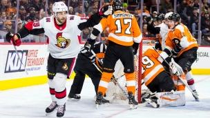 Derick Brassard passerait aux Penguins dans la tourmente