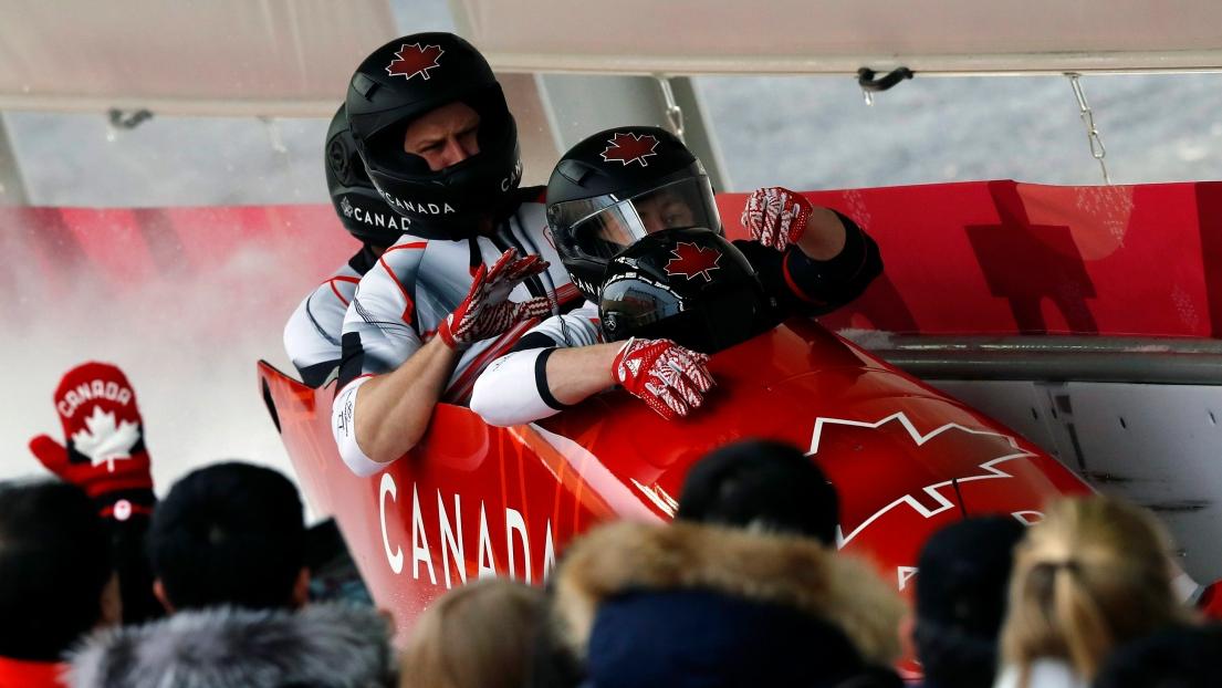 Le Canada quatrième après deux manches — Bob à quatre