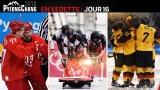 Les équipes de l'Allemagne et de la Russie au hockey, Justin Kripps et le bob à 4 canadien