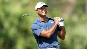 Une carte de moins-1 pour Tiger Woods