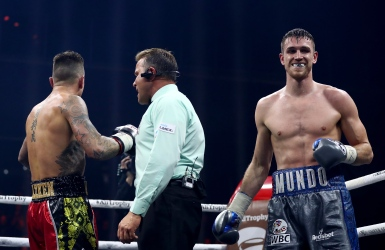 Callum Smith obtient son billet pour la finale