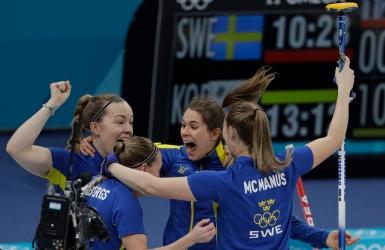 Curling : l'or revient aux Suédoises aux JO