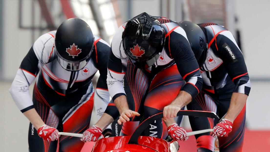 Pas de médaille canadienne — Bobsleigh à quatre