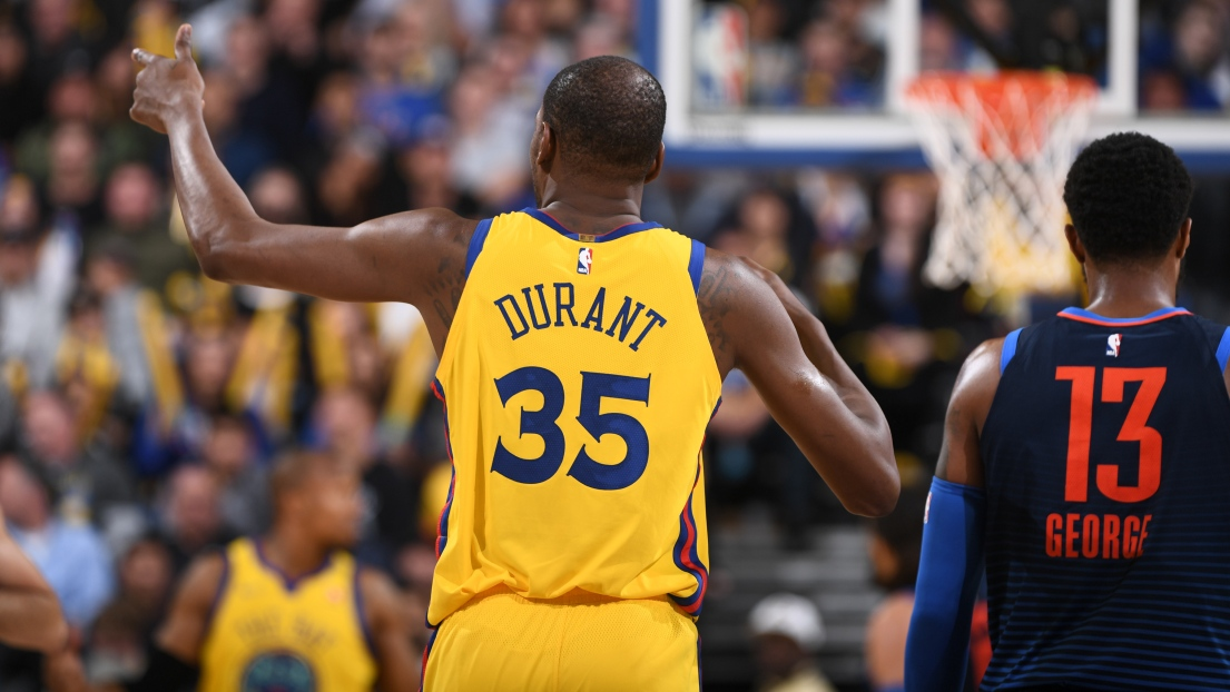 Kevin Durant quitte Golden State et rejoint les Brooklyn Nets — NBA