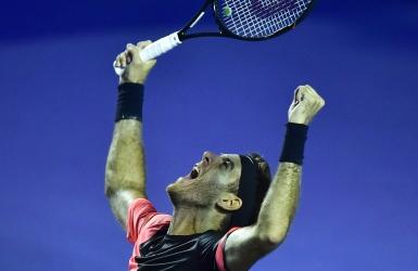 Del Potro inflige un 1er revers à Federer
