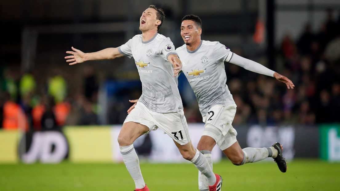 Nemanja Matic et Chris Smalling