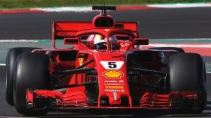 Vettel s'offre un record de parcours à Barça