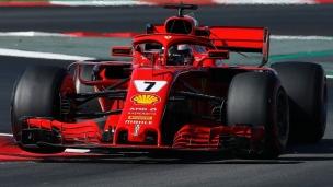 Ferrari domine encore en Catalogne