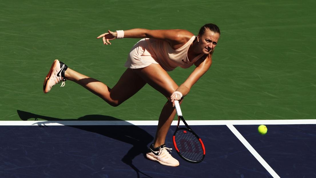 WTA : Petra Kvitova est surprise à Indian Wells par Amanda ...