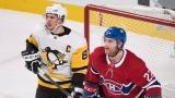 Sidney Crosby et Karl Alzner