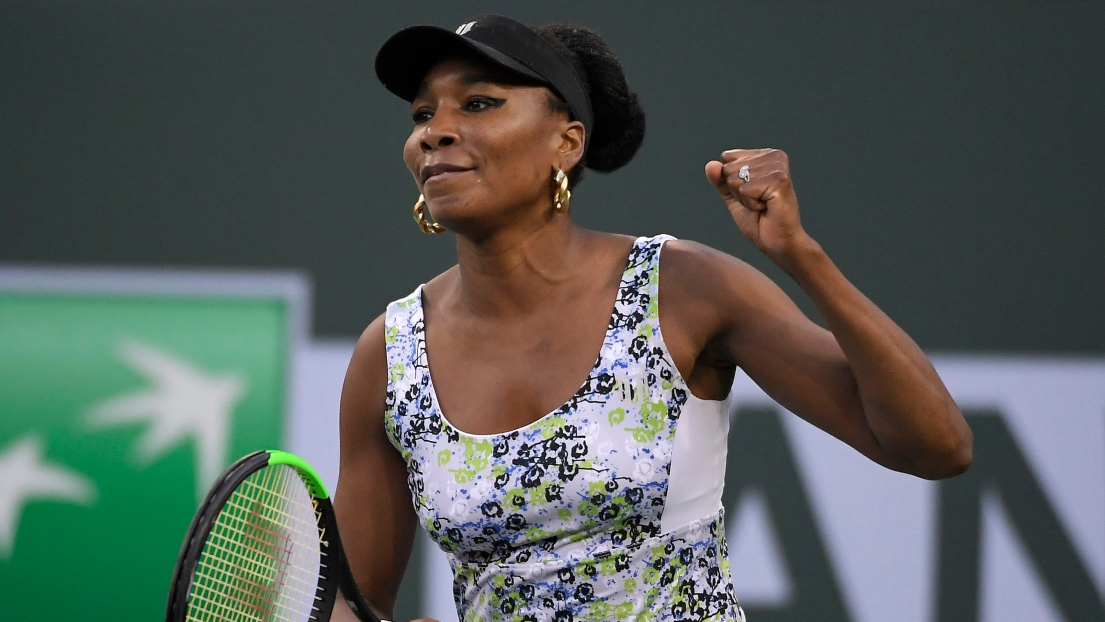 Indian Wells : Venus Williams en demi-finale 17 ans plus tard
