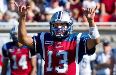 Calvillo devient un immortel du football canadien