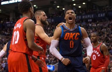 NBA : Westbrook freine la série des Raptors