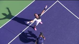 Un grand moment pour del Potro face à Federer!