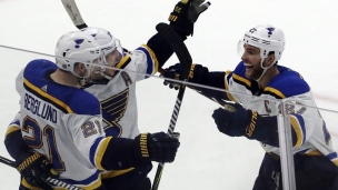 Blues 5 - Blackhawks 4 (Prol.)