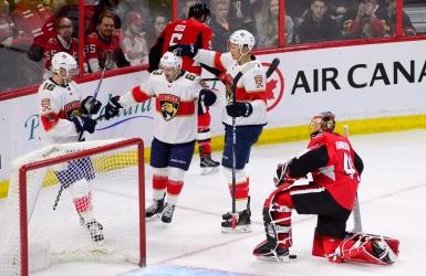 Un festin offensif des Panthers à Ottawa
