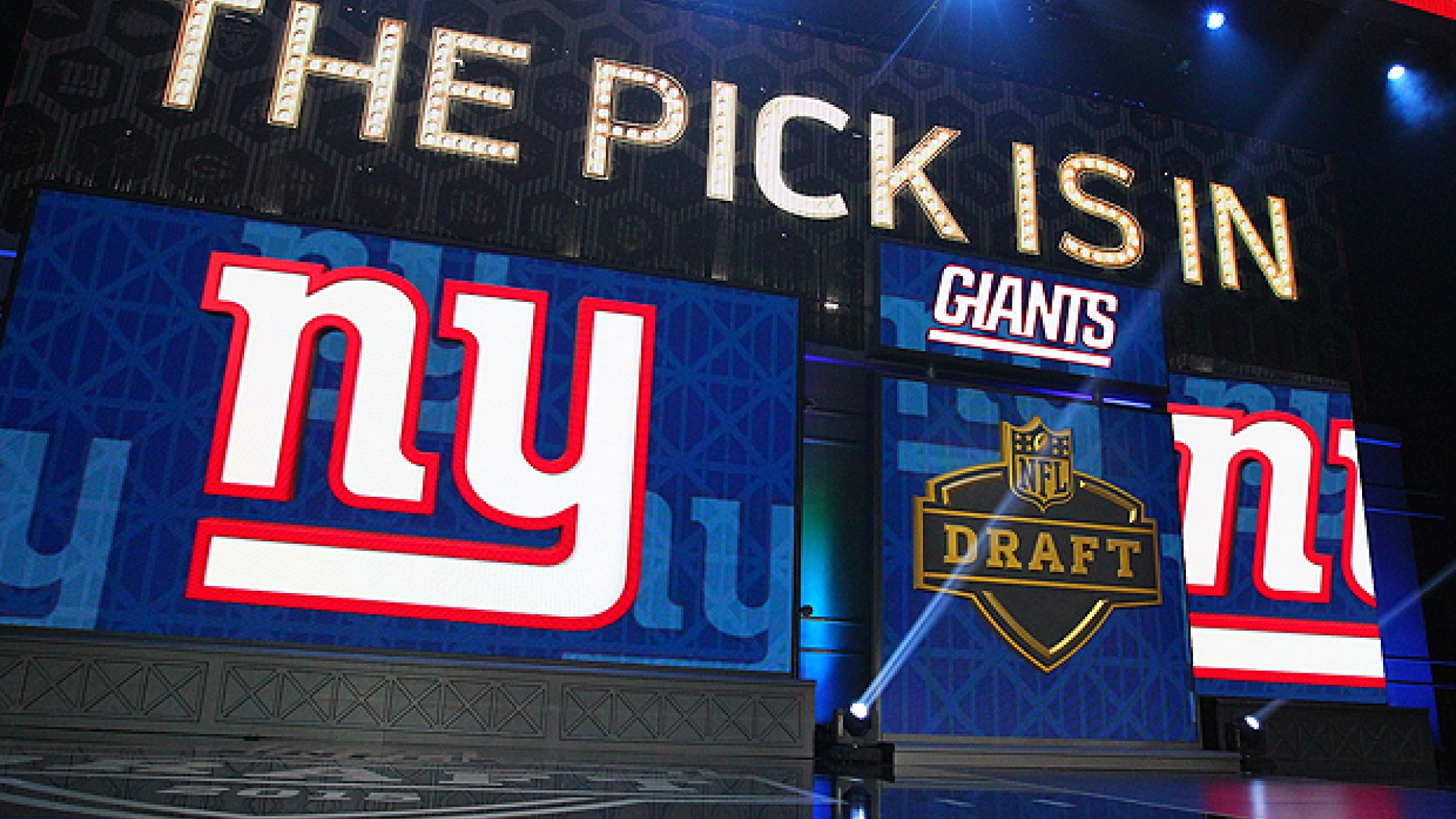 Repêchage de la NFL - Giants de New York