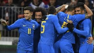 Russie 0 - Brésil 3