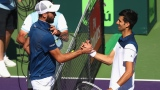 Benoit Paire et Novak Djokovic