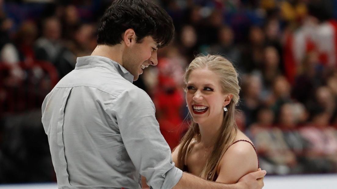 Andrew Poje et Kaitlyn Weaver
