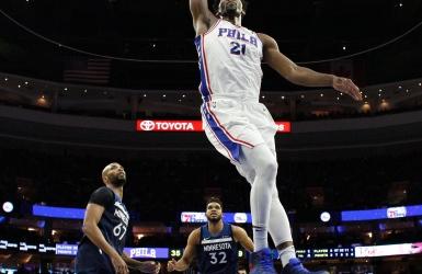 NBA : les Sixers s'approchent des séries