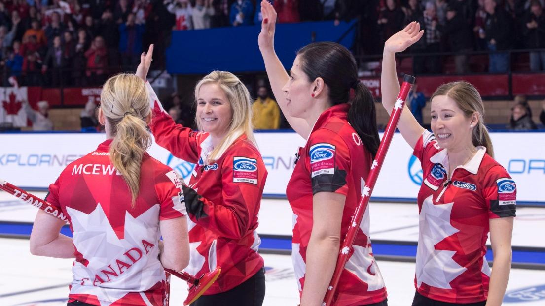 Le bronze va à la Russie — Curling féminin