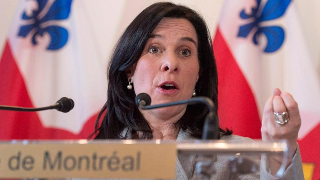 La mairesse de Montréal Valérie Plante