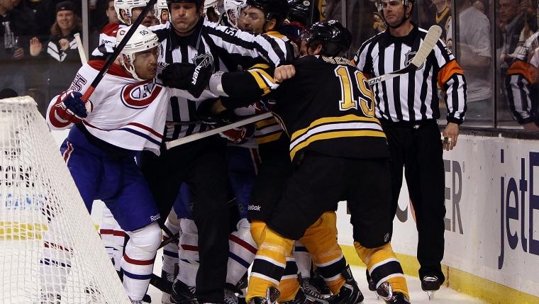 Montréal a vaincu Boston au compte de 4 à 3 lors du dernier match entre les deux équipes le 3 mars d