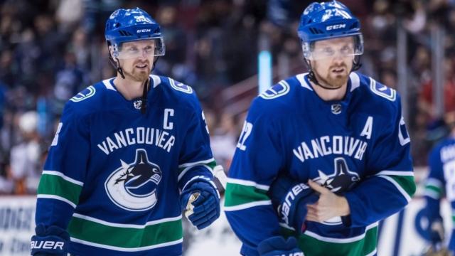 Les Sedin sont de retour avec les Canucks