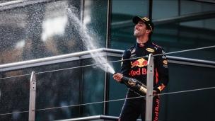 Victoire surprise de Ricciardo