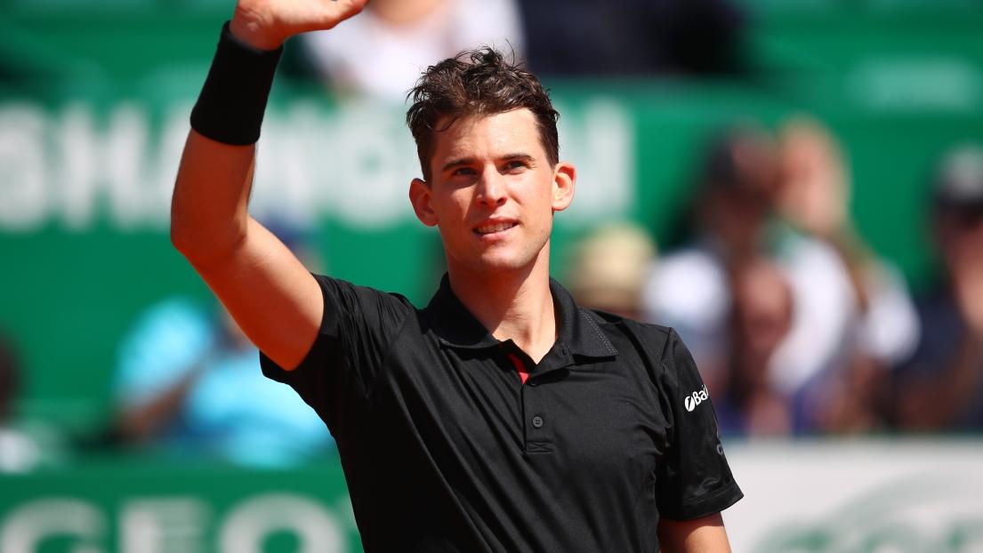 Djokovic ne cède qu'un jeu — Monte-Carlo