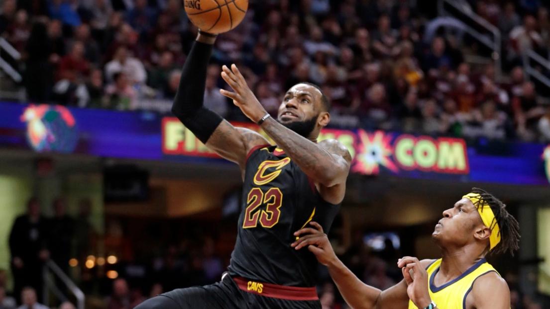 NBA: Indiana cartonne Cleveland, Toronto sort Washington